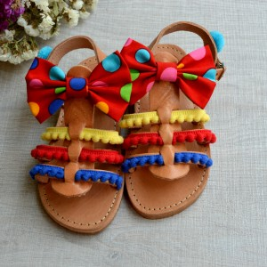 Gladiator baby sandals Smarties